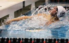 Boys' swim places second at Howell Tri-Meet
