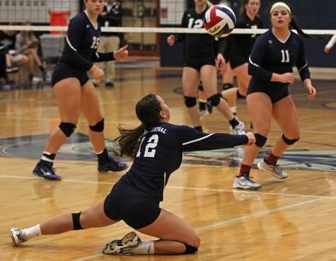 Varsity volleyball takes hard final loss