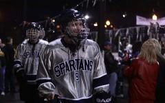 Hockey defeats Oakville in The Winter Classic.