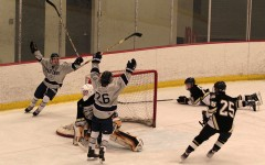 Hockey club's senior night ends in a defeat of North.