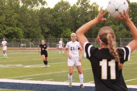 Girls soccer defeats Knights at sectional game