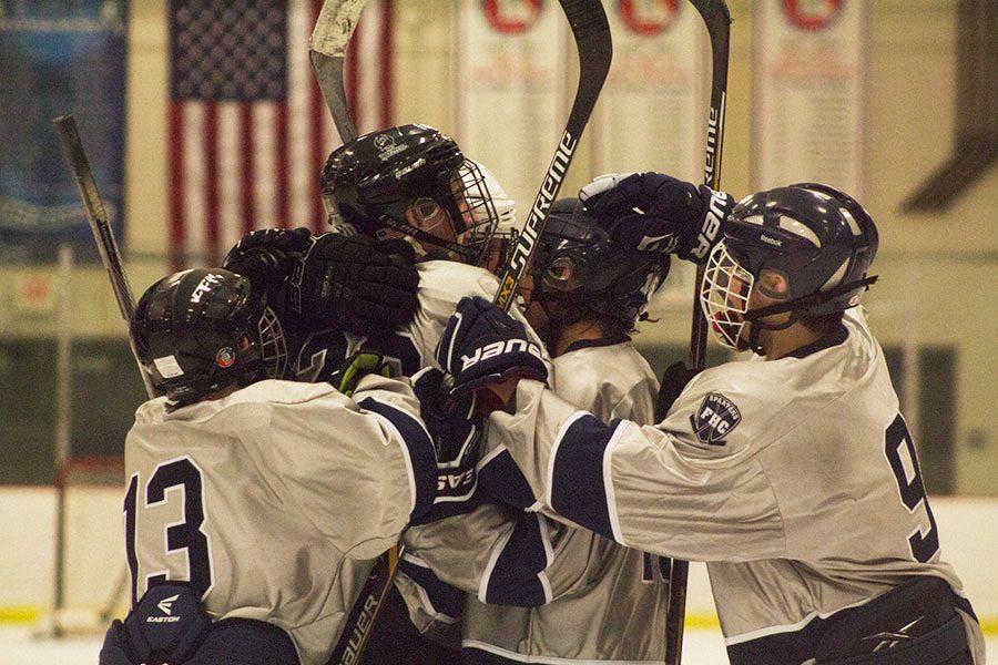 Hockey ties it up