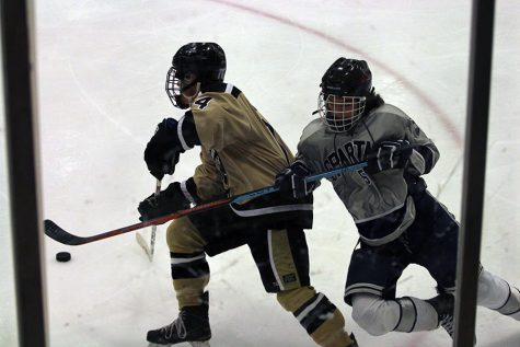 Shredding ice against North