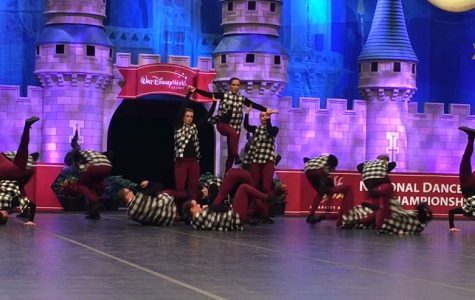 Sensations place sixth at nationals