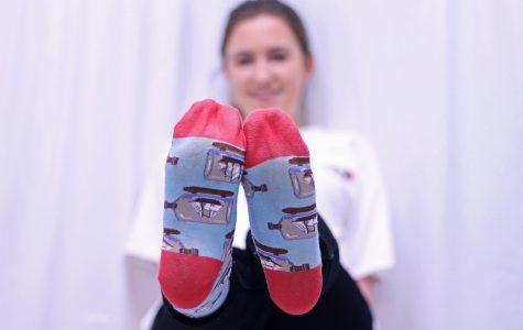 My socks represent my beliefs