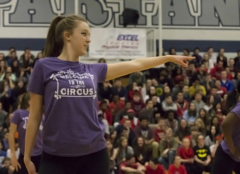 Winter sports get recognized at pep assembly