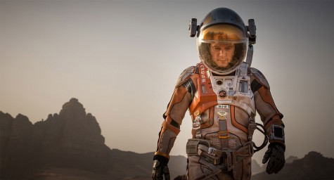 "Matt Damon shines in ""The Martian"""