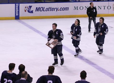 Central hockey melts the ice