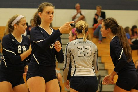 Lady Spartans take on Howell in girls volleyball