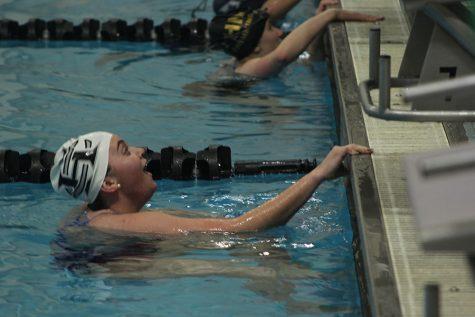 Swimming up