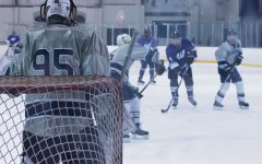 Hockey team goes into playoffs