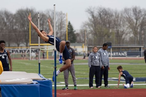 Boys track team gains momentum