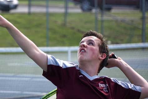 Boys' tennis dominates in tournament