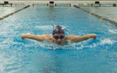 Swim team takes a tough loss