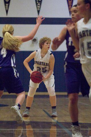 Freshman girls basketball defeats Troy