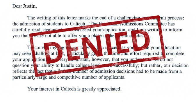 The+dreaded+denial+letter%2C+the+worst+of+them+all.+Most+kids+confuse+these+with+the+very+different+deferral+letter.