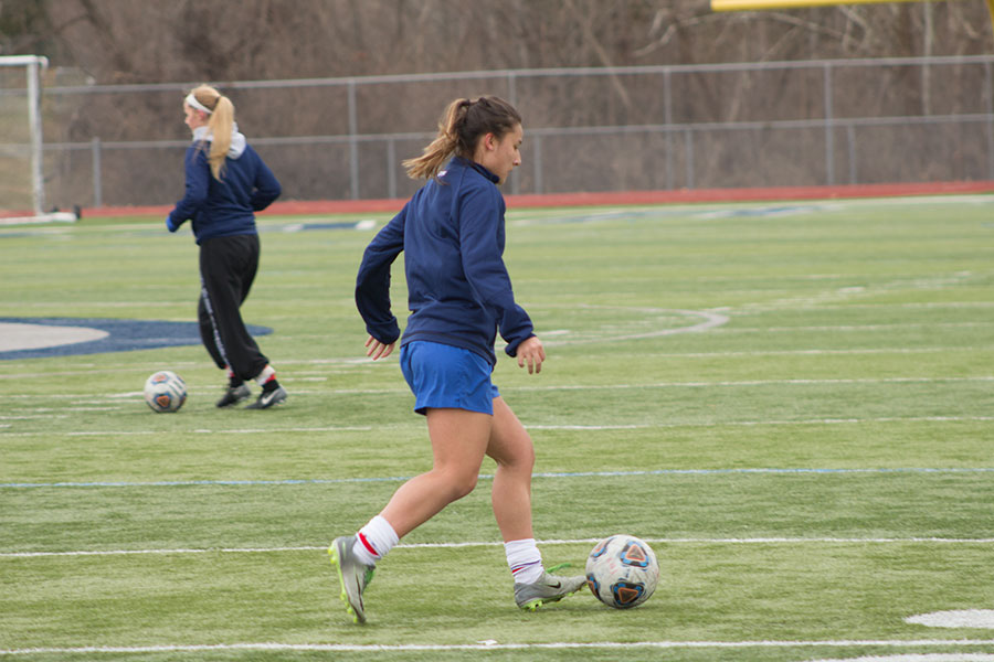 Girl's Soccer practices kick into full swing, and student's spend hundreds of dollars to play.