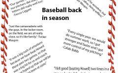 Baseball back in season